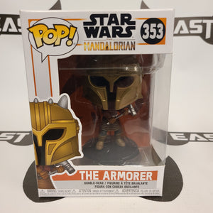 Funko Pop! Star Wars The Mandalorian The Armorer