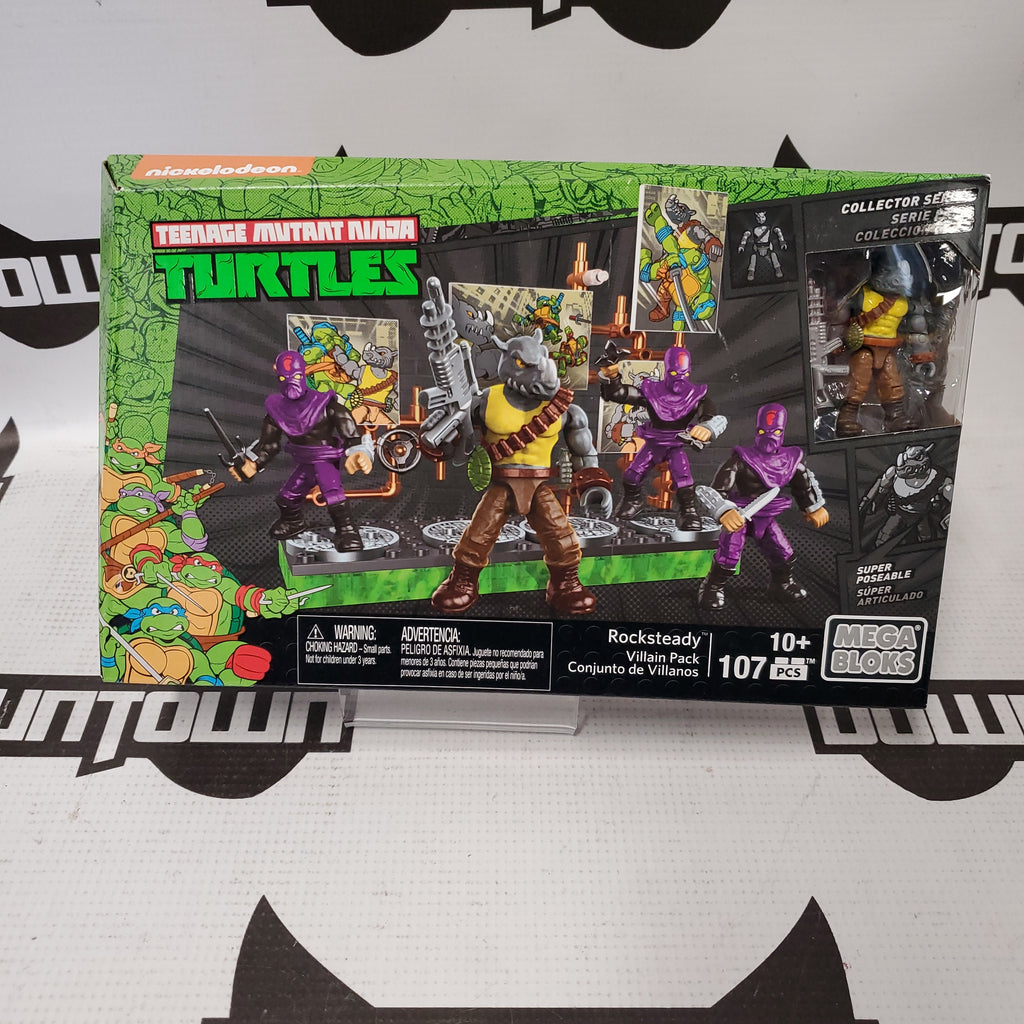 MEGA BLOKS TMNT- ROCKSTEADY VILLIAN PACK