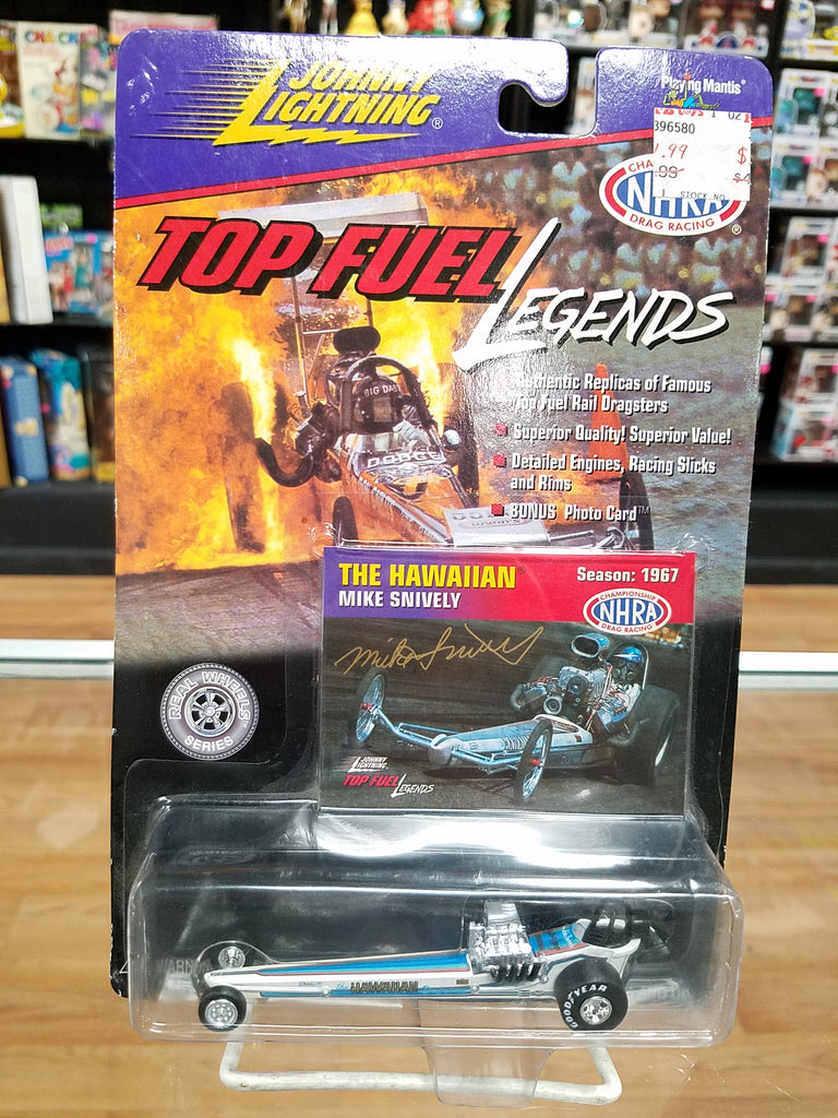 Johnny Lightning Top Fuel Legends The Hawaiian Dragster Mike Snively 1/64