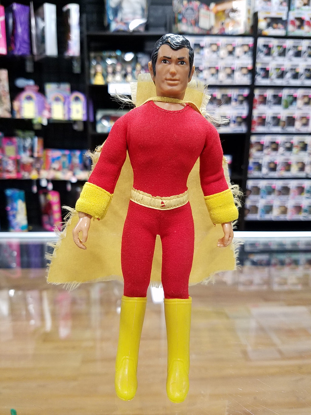 Mego World's Greatest Super Heroes 1974 Shazam