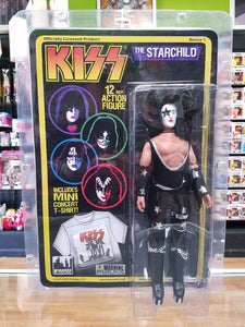 KISS Retro Series 1 The Starchild Paul Stanley 12 Inch Action Figure
