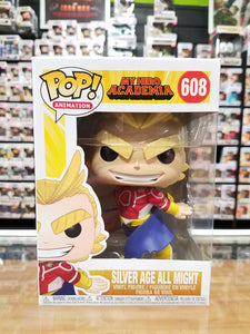 Funko Pop! Animation My Hero Academia #608 Silver Age All Might