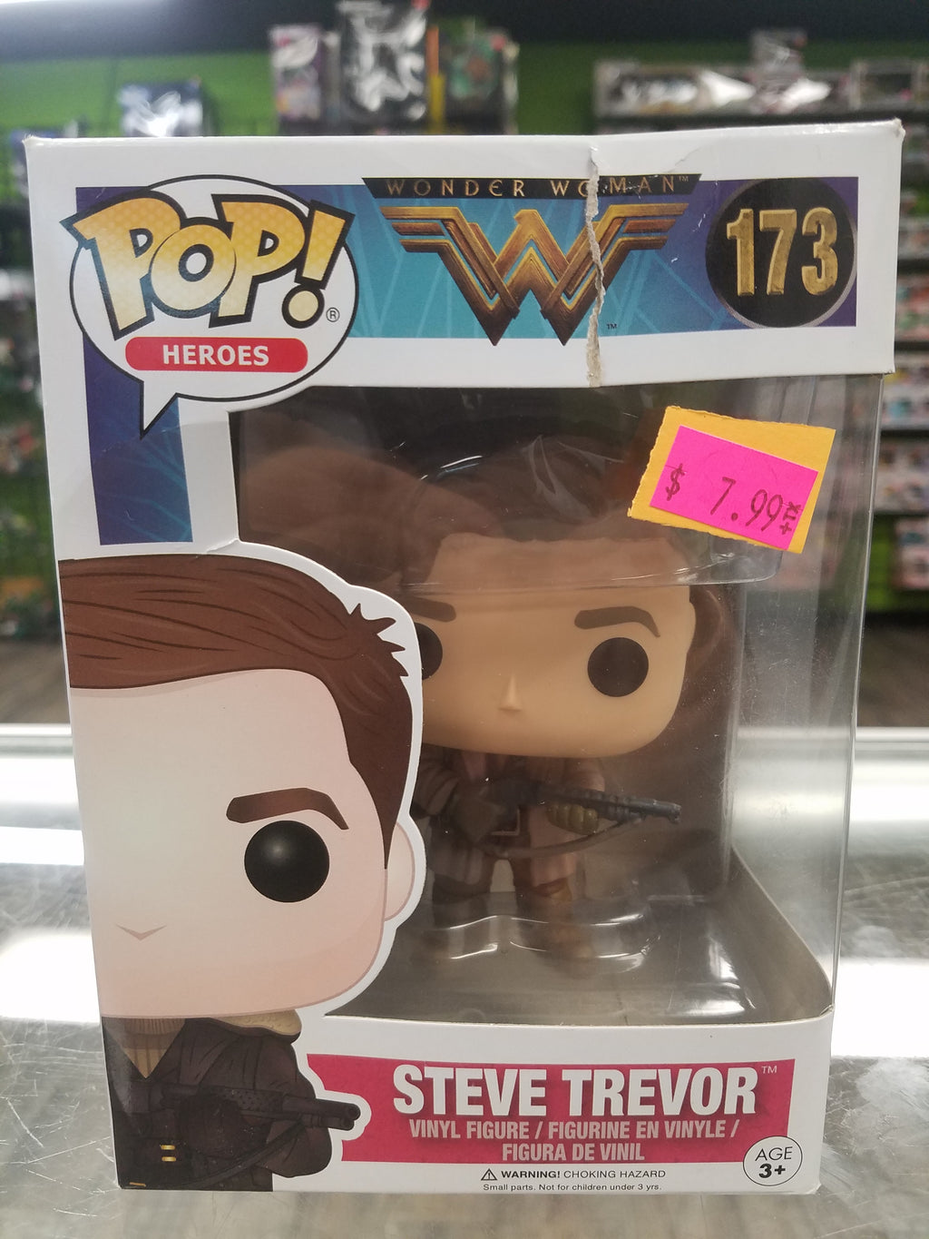 FUNKO POP! Heroes, Wonder Woman (Movie) #173, Steve Trevor