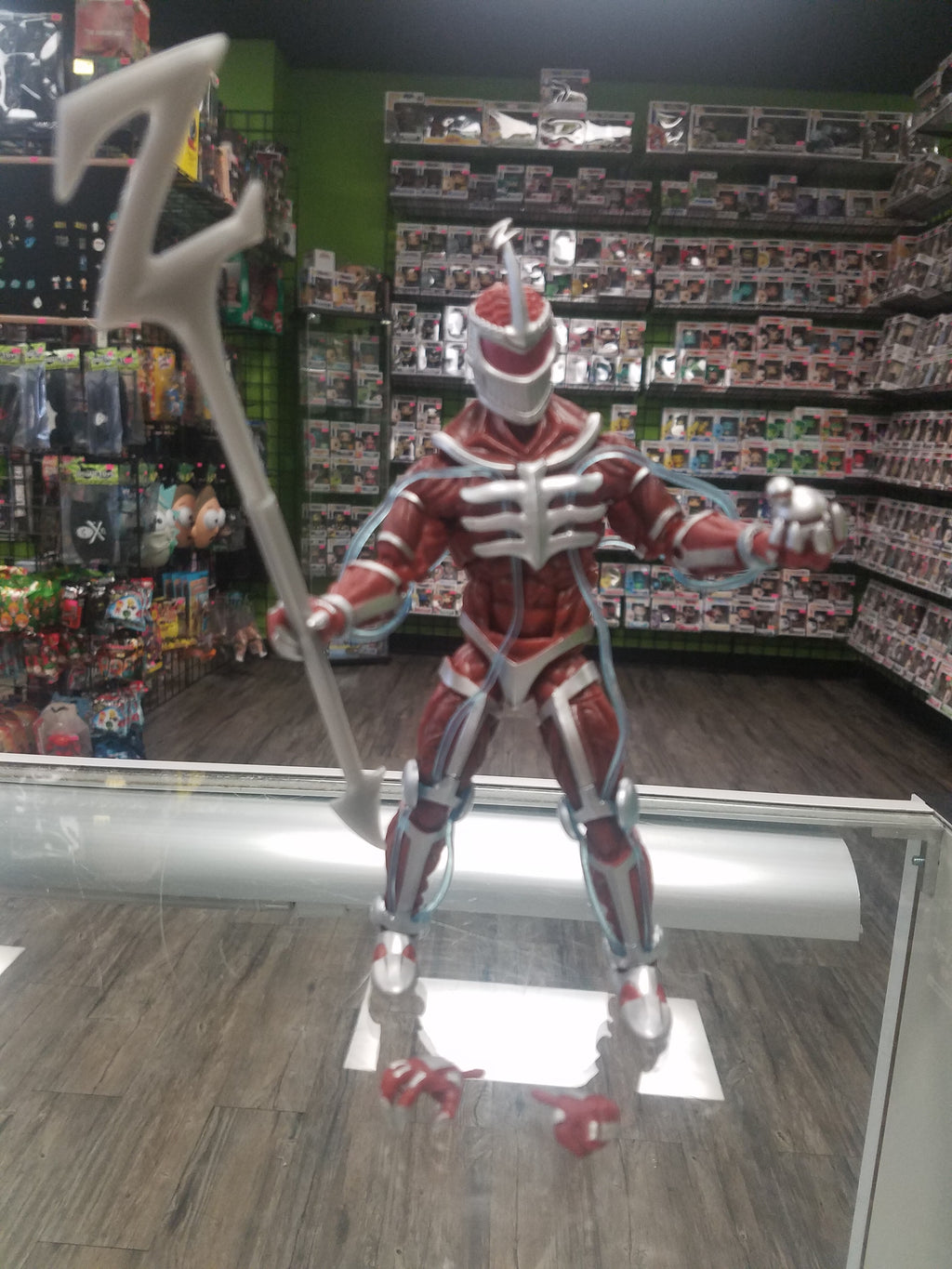 HASBRO Lightning Collection Mighty Morphin Power Rangers Lord Zed (Gamestop Exclusive Rita Repulsa two-pack version)