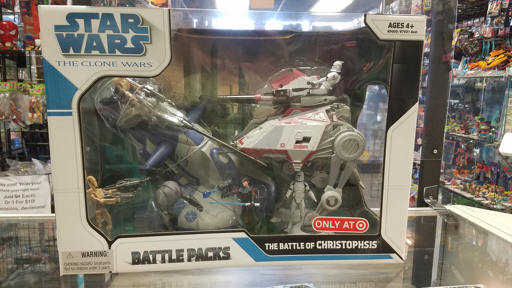 HASBRO Star Wars: The Clone Wars Battle Pack, The Battle of Christophsis (Target Exclusive)