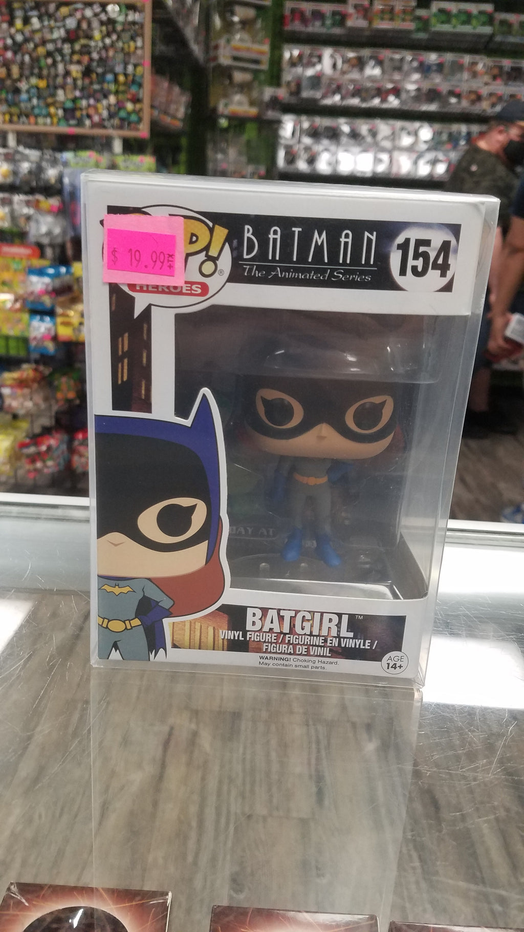 FUNKO POP! Heroes #154, Batman the Animated Series, Batgirl