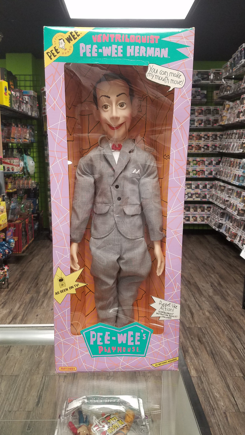 MATCHBOX Pee-Wee's Playhouse, Pee-Wee Herman Ventriloquist Dummy