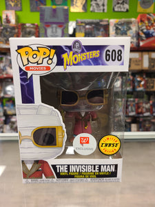Funko Pop! MOVIES Universal Monsters the invisible man Walgreens Chase