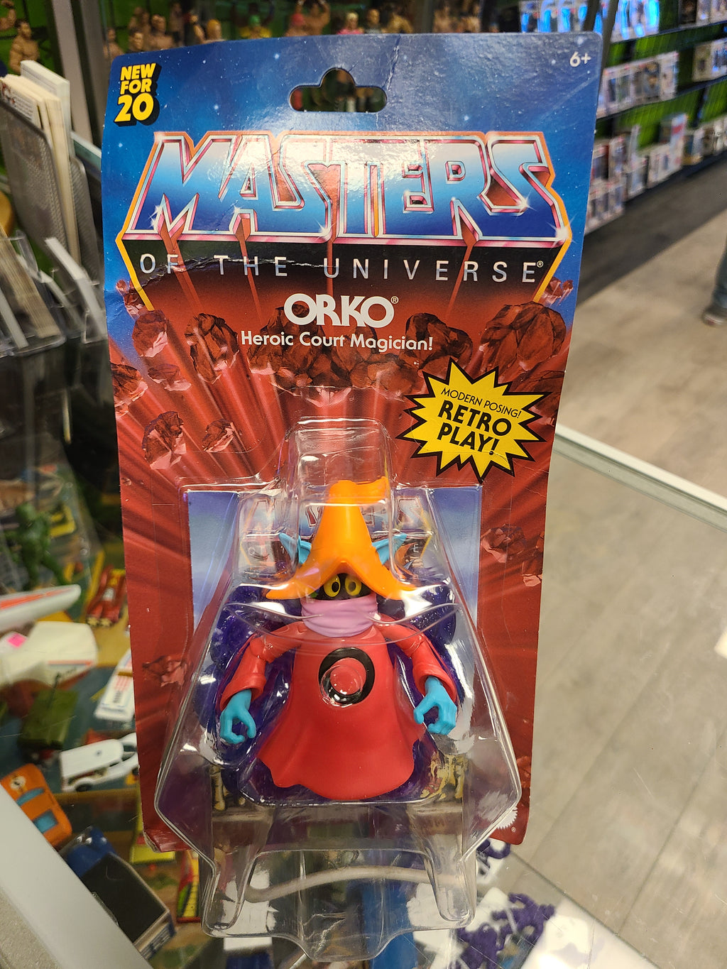Mattel Masters of The Universe Retro Play Orko