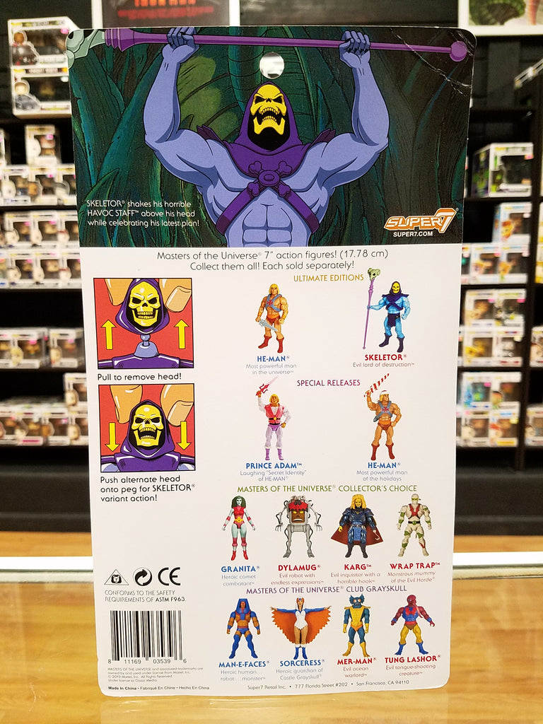Super 7 Masters of the Universe Skeletor Ultimate Edition