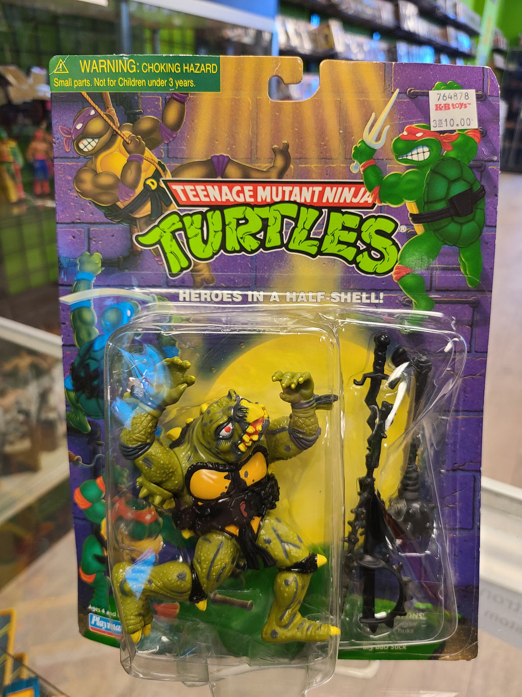 Playmates Teenage Mutant Ninja Turtles Tokka 1998