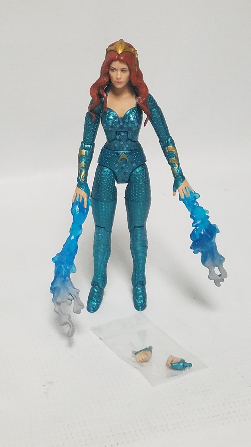 MATTEL DC Multiverse Mera (Aquaman Movie Version), Trench Warrior CAC Wave