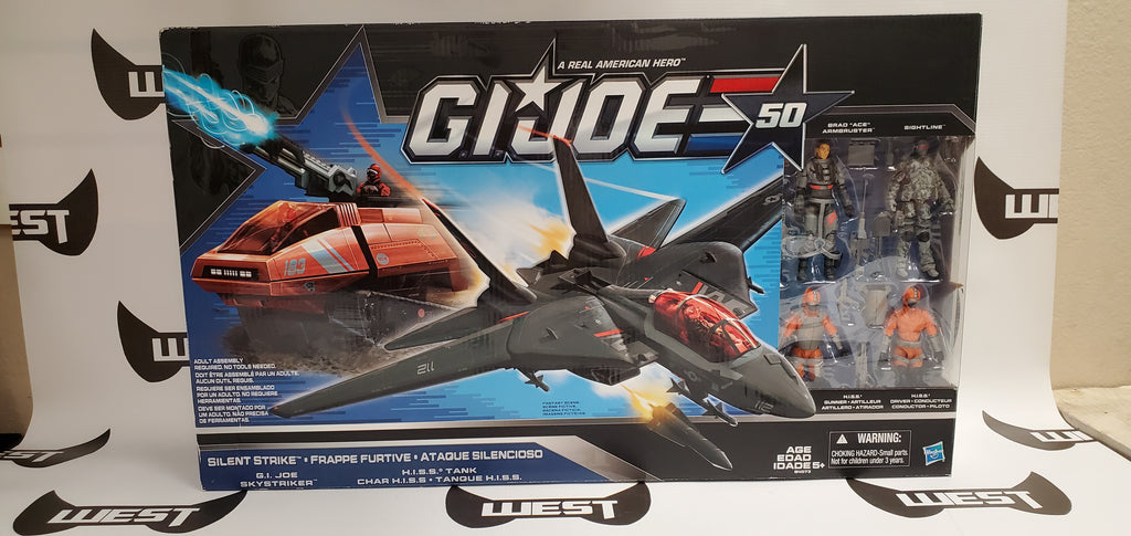 Hasbro G.I. Joe 50 Silent Strike Box Set