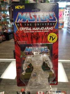 Super7 Masters of the Universe Crystal Man at Arms