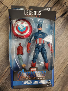 Marvel Legends Endgame Fat Thor BAF Captain America