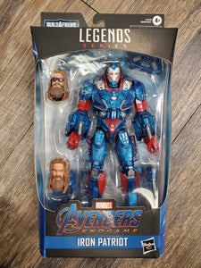 Marvel Legends Endgame Fat Thor BAF Iron Patriot