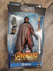 Marvel Legends Endgame Fat Thor BAF Heimdall