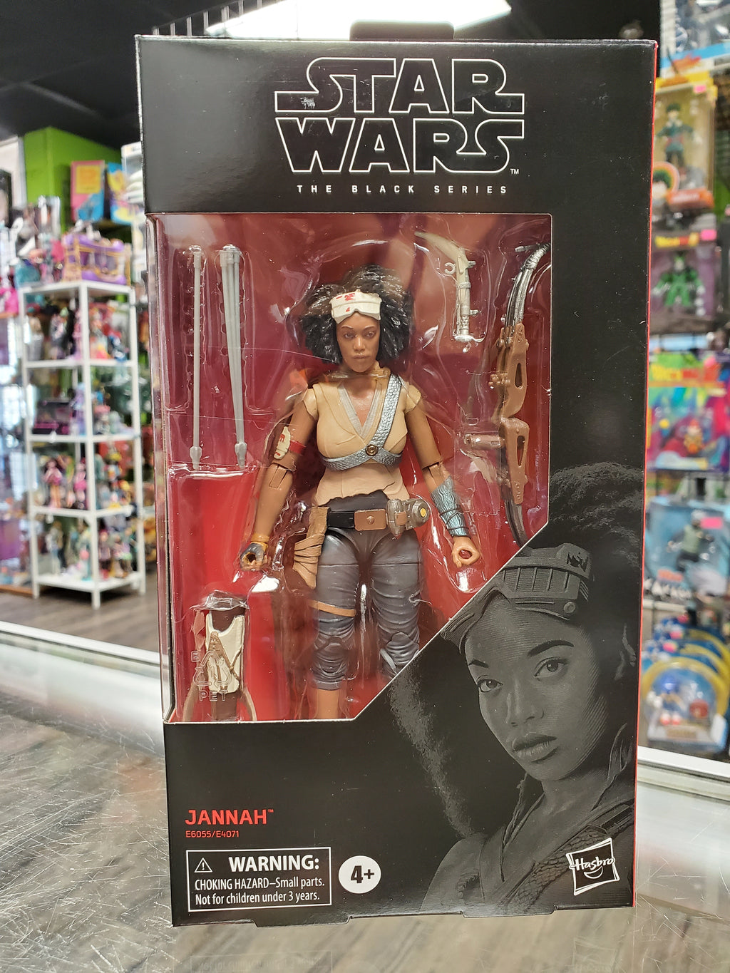 Star Wars Black Series Jannah
