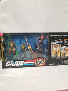 G.I. Joe A Real American Hero DVD Battles The Revenge Of Cobra