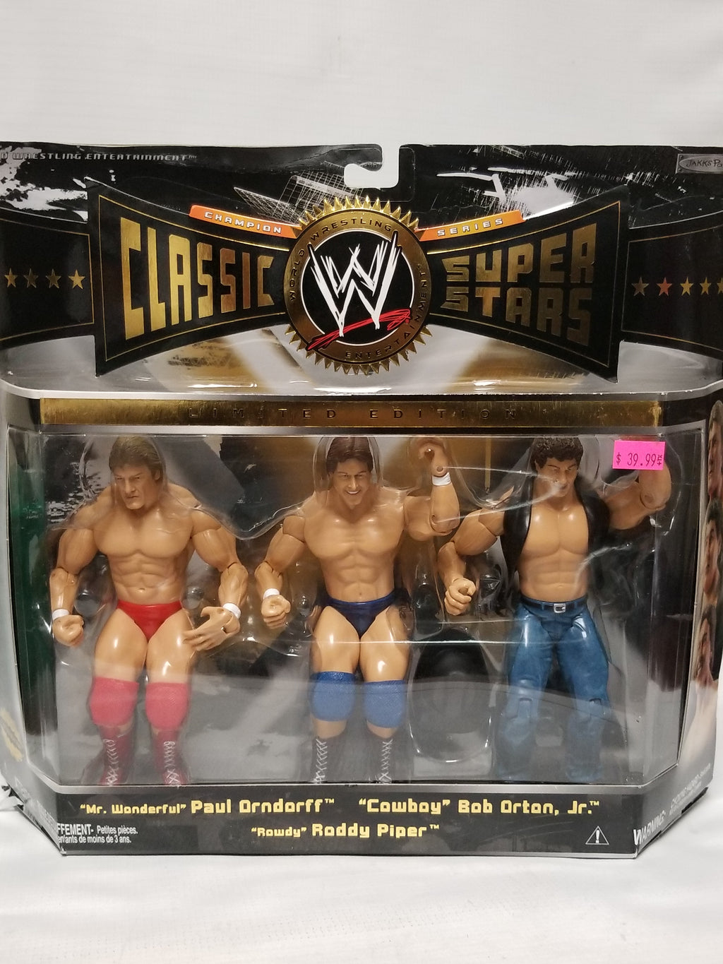 Jakks Pacific WWE Classic Superstars Champion Series