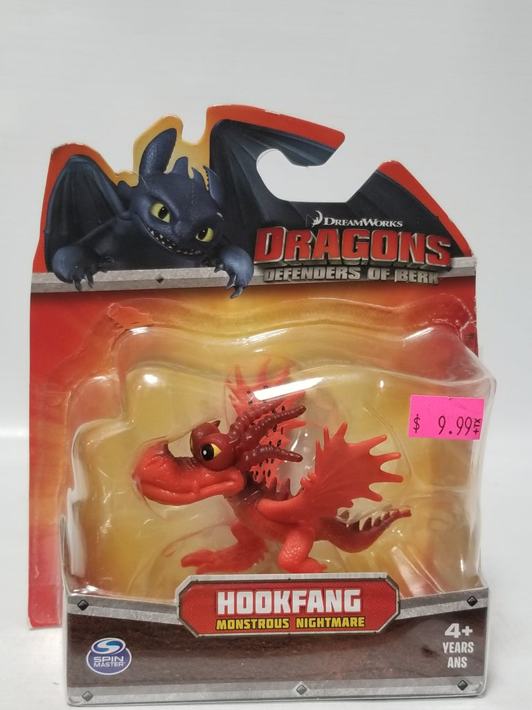 Spin Masters DreamWorks How To Train Your Dragon Defenders Of Berk Hookfang Monstrous Nightmare