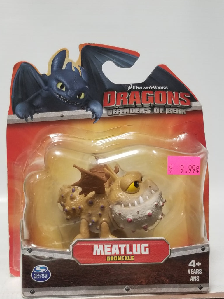 Spin Masters DreamWorks How To Train Your Dragon Defenders Of Berk Meatlug Gronckle