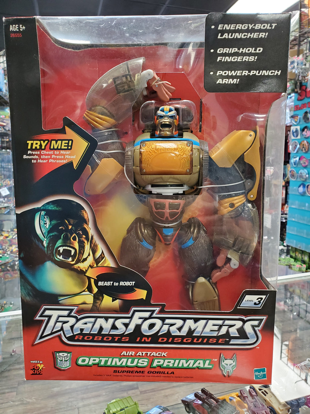 TRANSFORMERS ROBOTS IN DISGUISE OPTIMUS PRIMAL