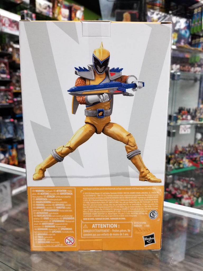 Hasbro Power Rangers Lightning Collection Dino Charge Gold Ranger
