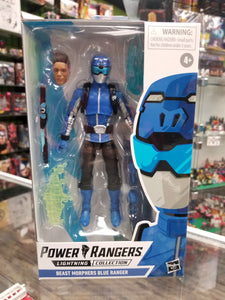 Hasbro Power Rangers Lightning Collection Beast Morphers Blue Ranger