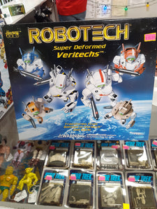Harmony Gold Robotech Super Deformed VeriTechs Morpher Collection