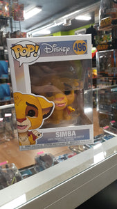 Funko Pop! Disney The Lion King Simba 496