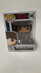 Funko Pop! Television Stranger Things Ghostbuster Dustin #549