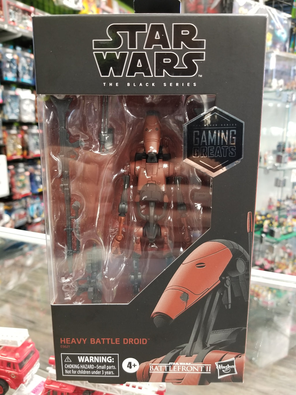 Hasbro Star Wars The Black Series Heavy Battle Droid Gaming Greats