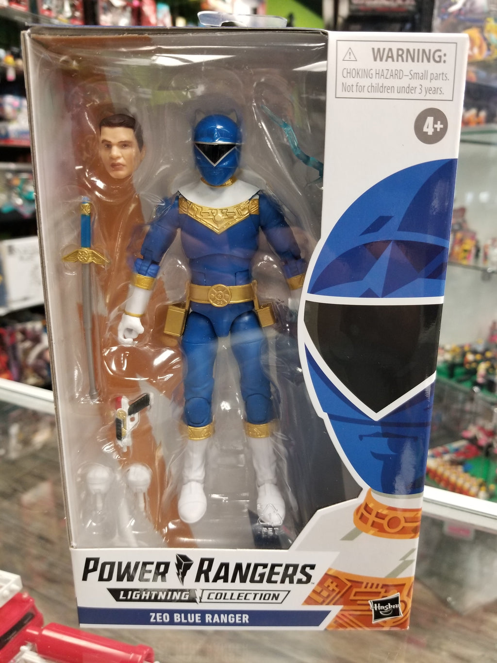 Hasbro Power Rangers Lightning Collection Zeo Blue Ranger