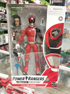 Hasbro Power Rangers Lightning Collection S.P.D. Red Ranger
