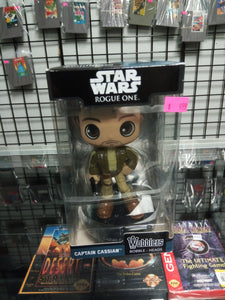 Star Wars Rogue One Captain Cassian Wobblers Bobble - Heads Funko