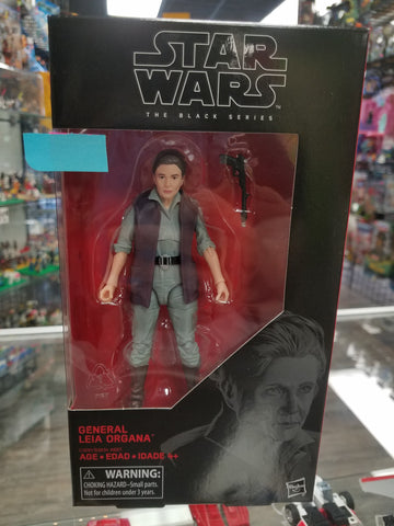 STAR WARS BLACK SERIES General Leia