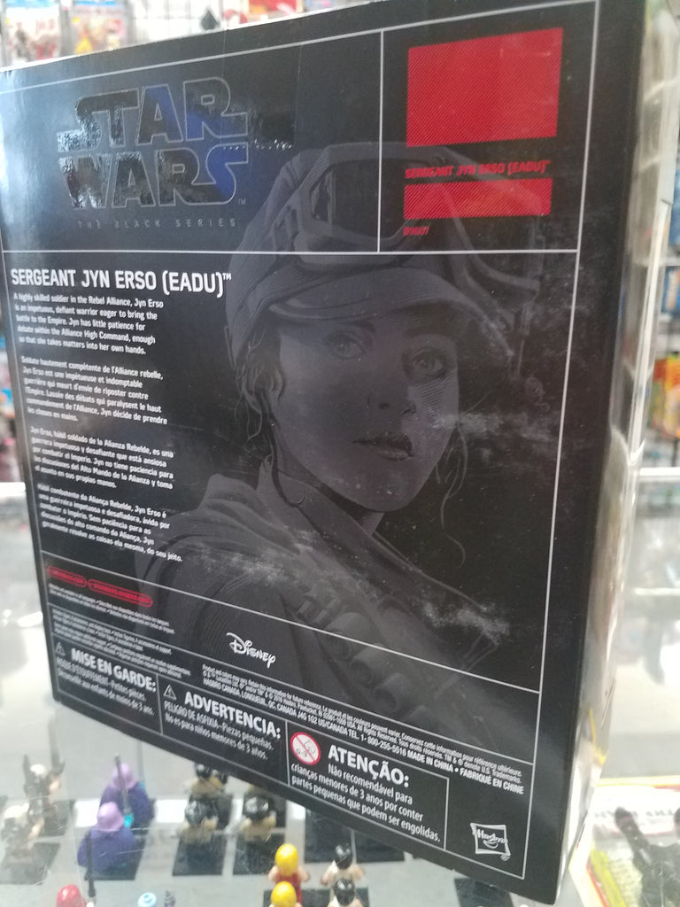 Star Wars Black Series KMart Exclusive Sergeant Jyn Erso (Eadu)
