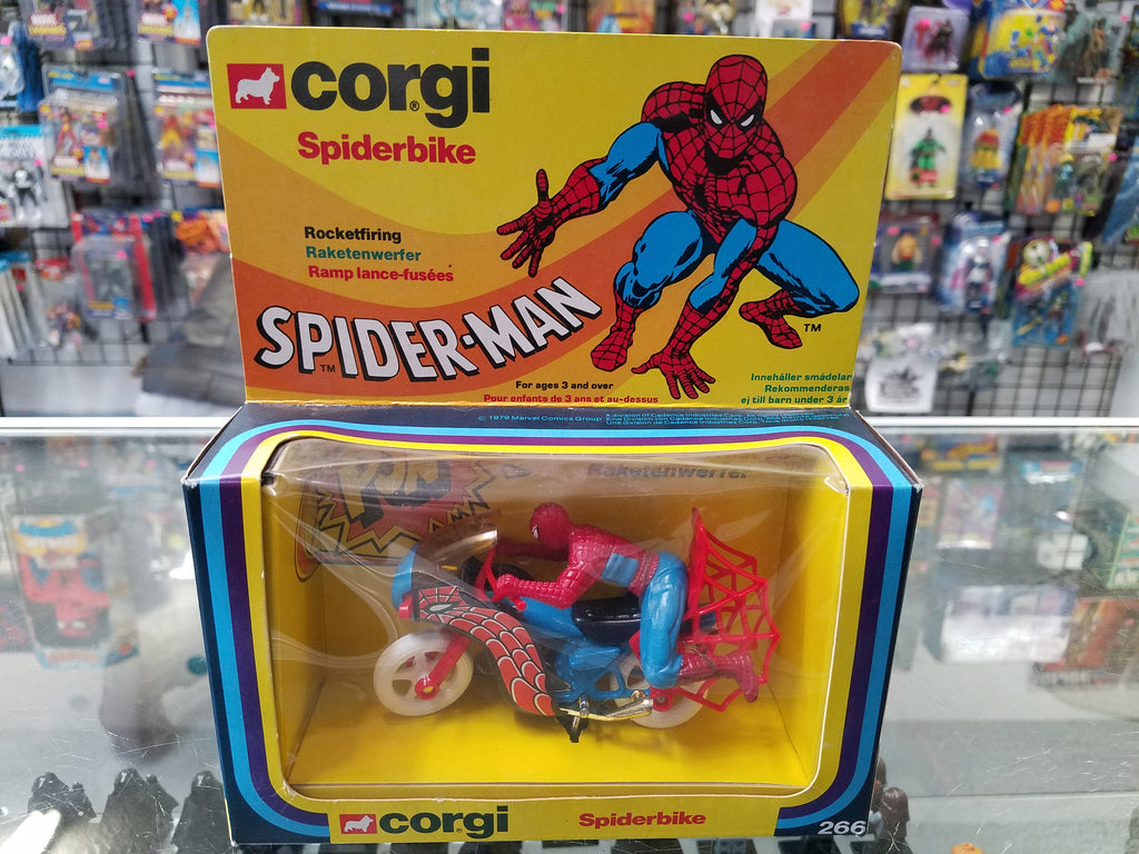 Corgi Marvel Spider-Man Rocketfiring Spiderbike 266