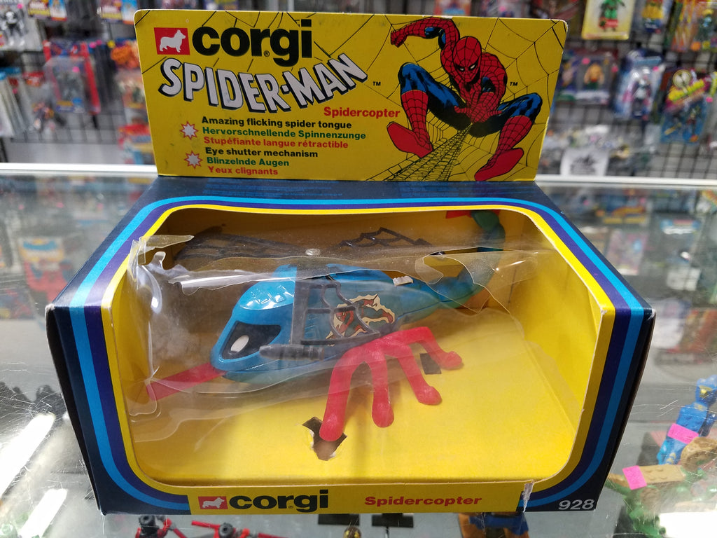 Corgi Marvel Spider-Man Spidercopter w/ Amazing Flicking Spider Tongue 928