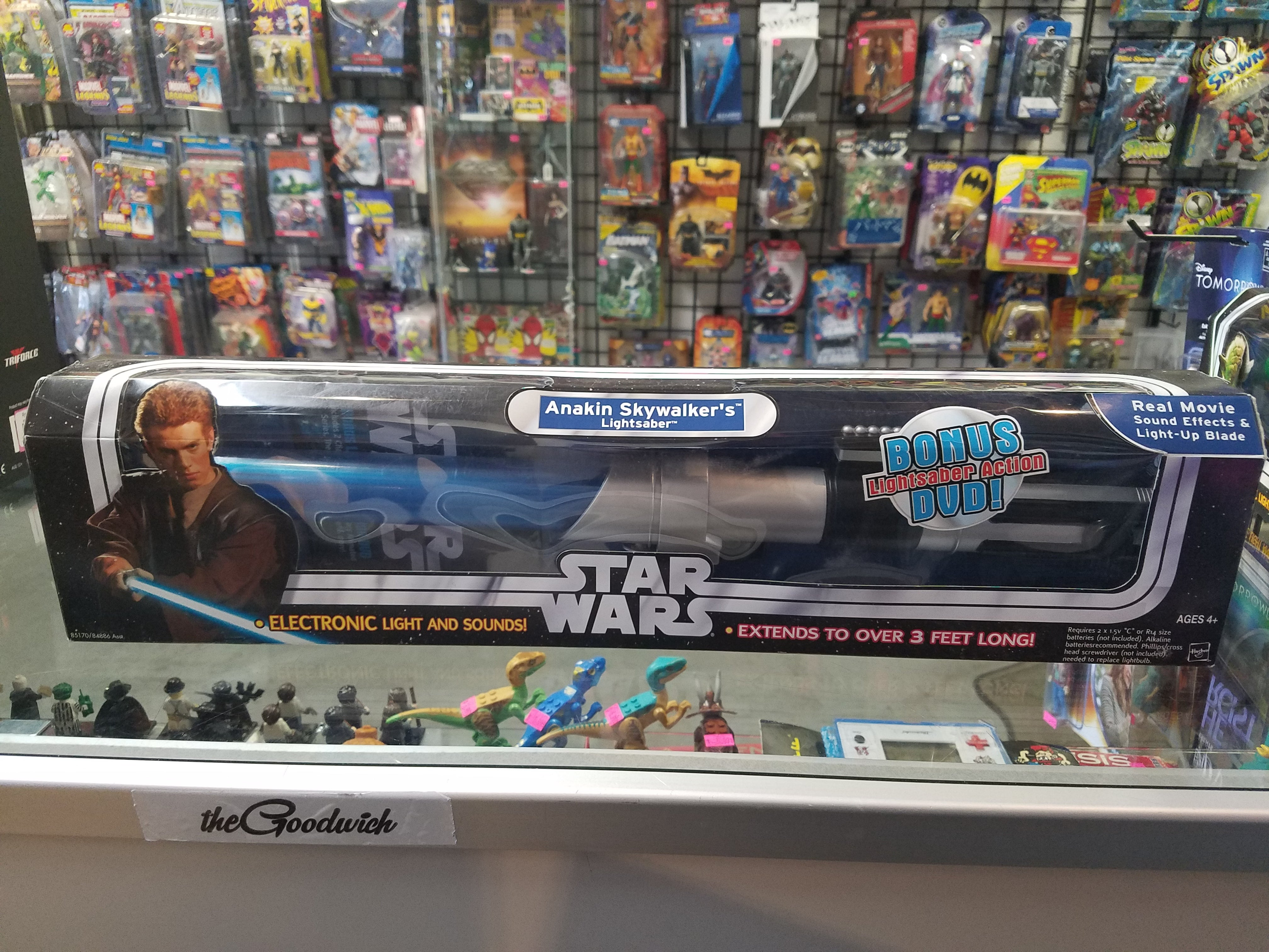 Star Wars The Original Trilogy Collection Anakin Skywalker S Lightsabe Rogue Toys