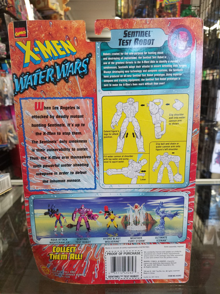 X-Men Water Wars Weather Fury Storm (Error Card)