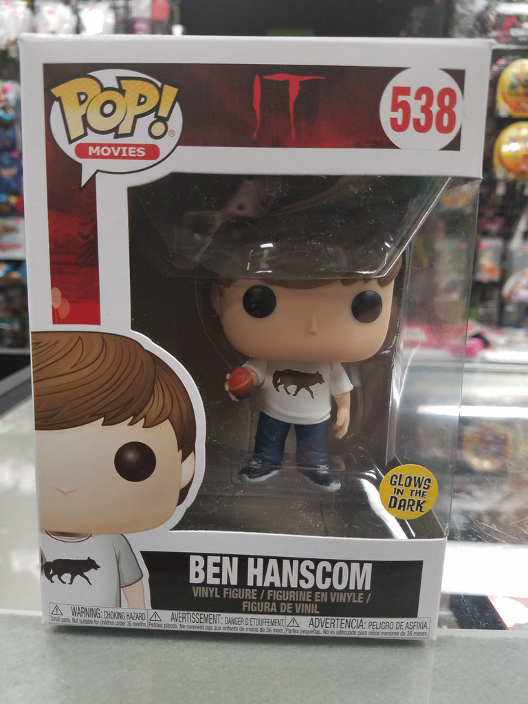 Funko PoP! Movies IT Ben Hanscom Glows in the Dark 538