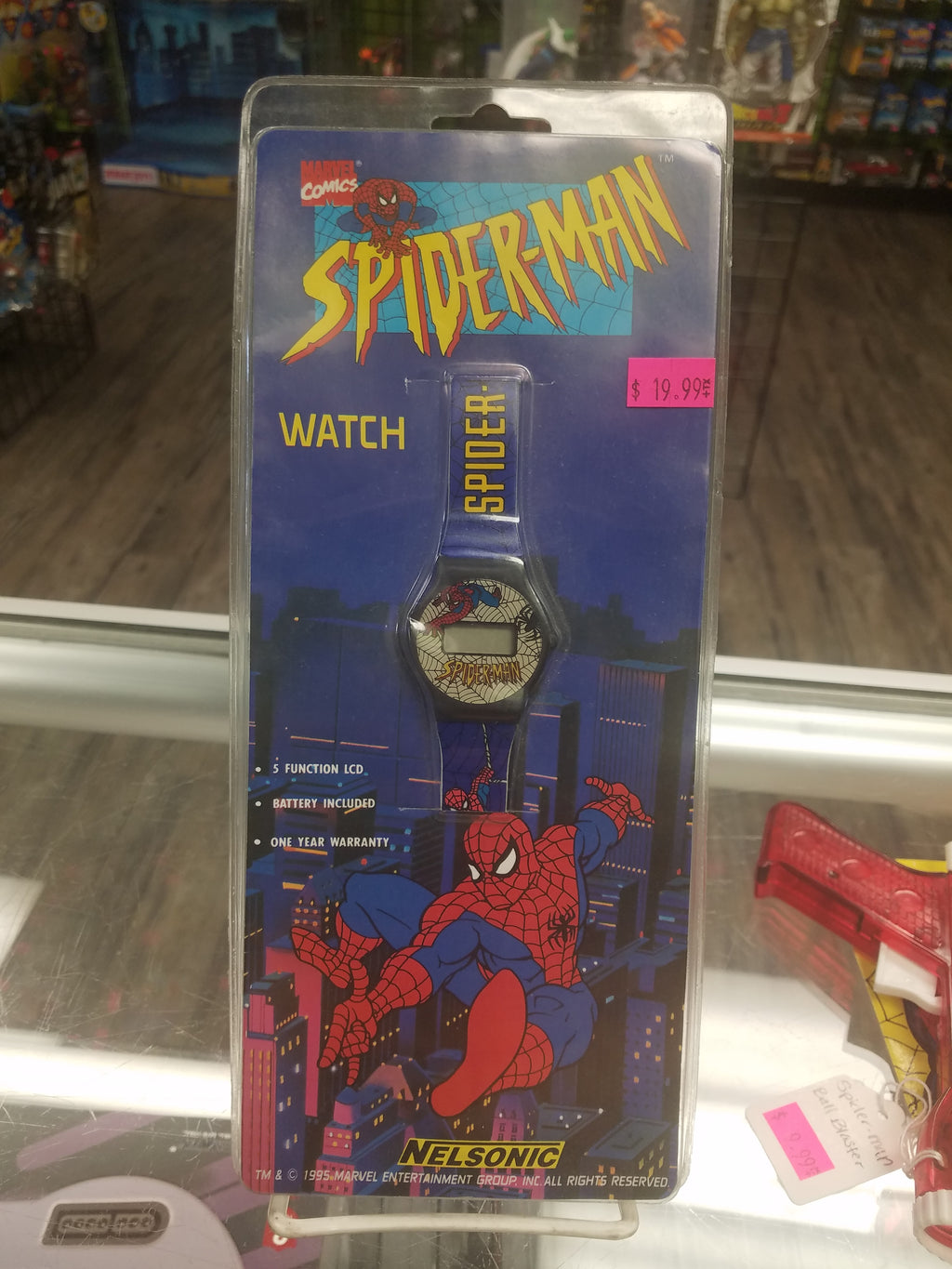 Nelsonic Spider-Man Watch 1995