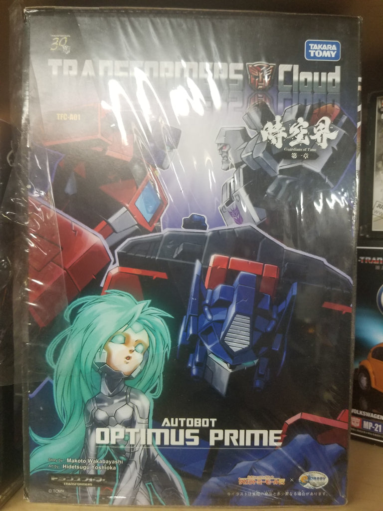 Transformers, Cloud, Optimus Prime with Comic