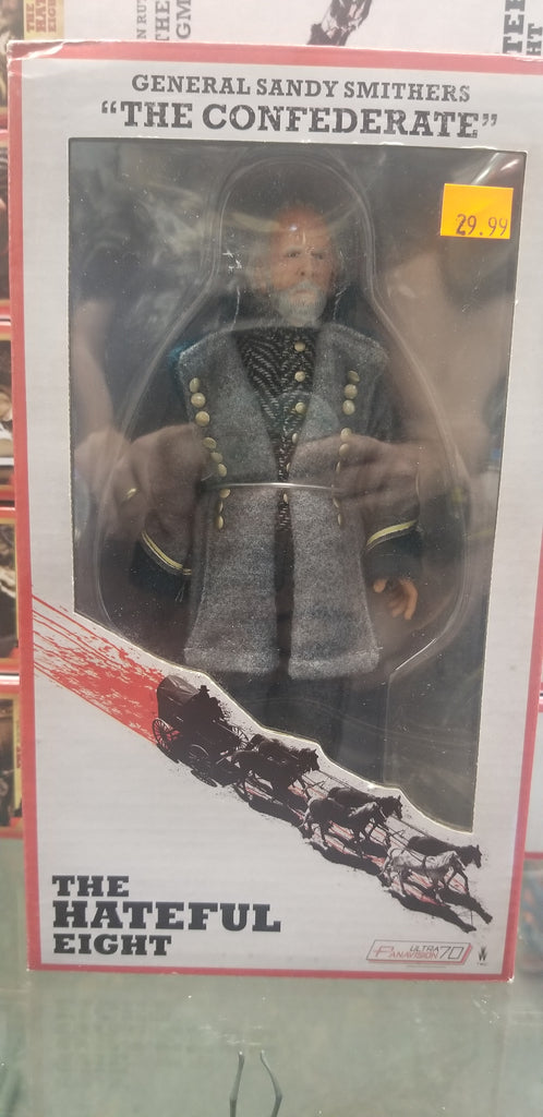 "The NECA Hateful Eight General Sandy Smithers ""The Confederate"""