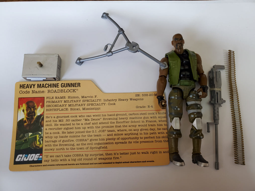 GI Joe 25th Anniversary Roadblock