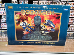 ROBOTECH THE MASTERPIECE COLLECTION THE NEW GENERATION BOOKENDS