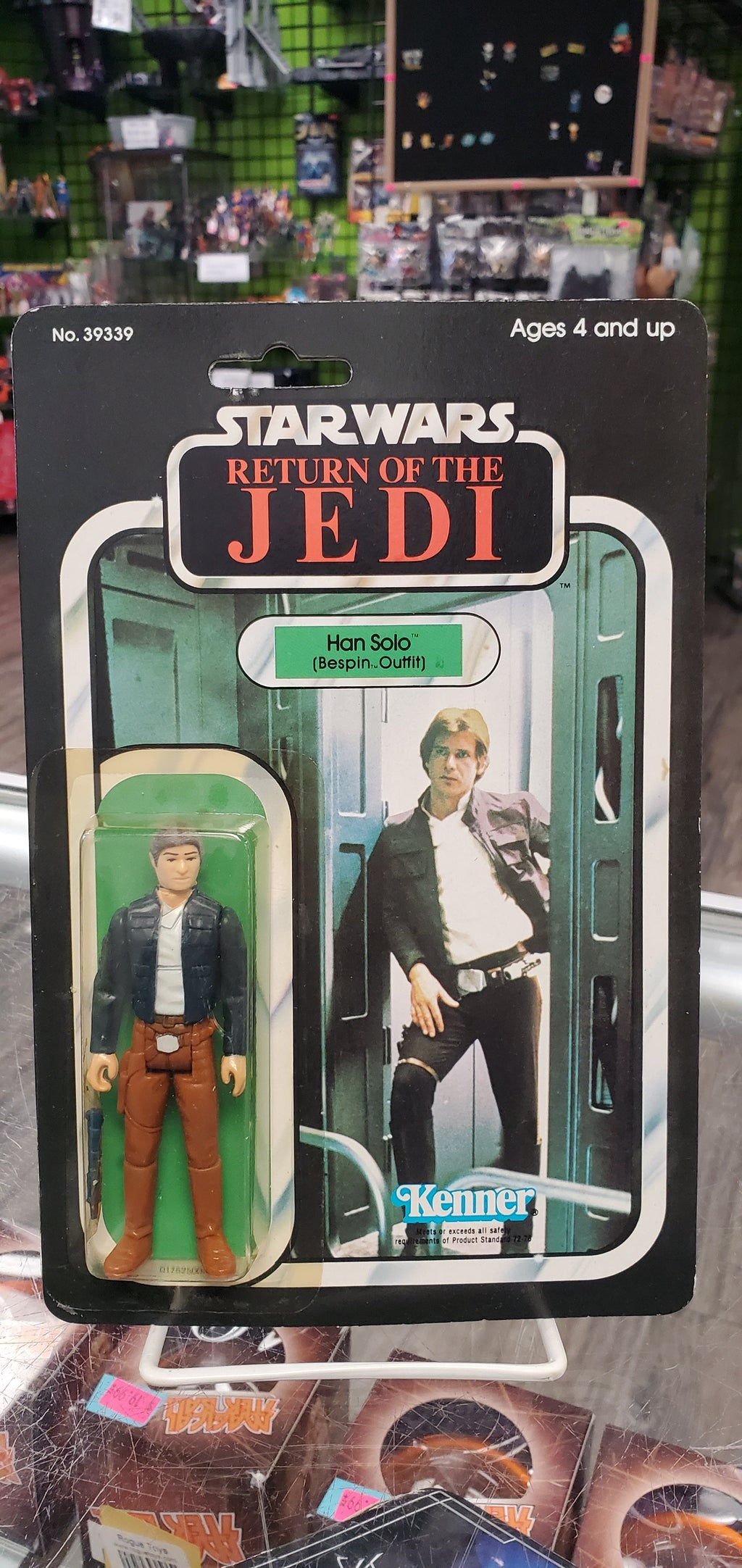 Kenner Star Wars Return of the Jedi Han Solo (bespin)
