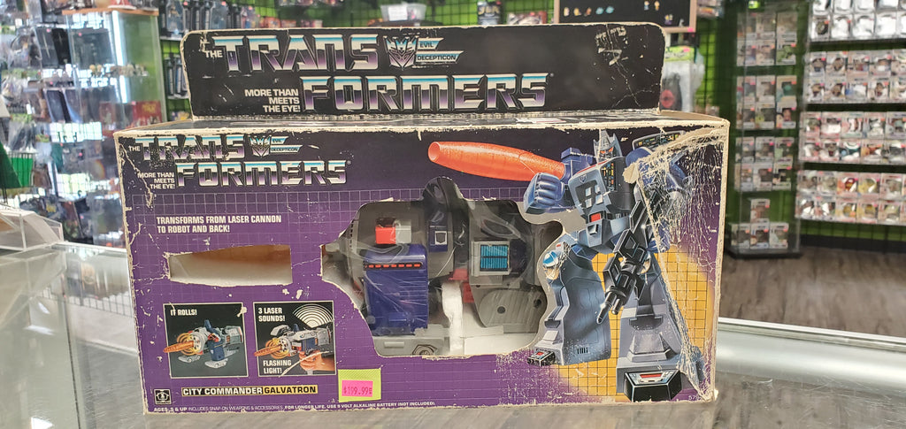 Hasbro The Transformers G-1 City Commander Galvatron